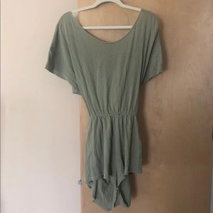 free people romper, size medium